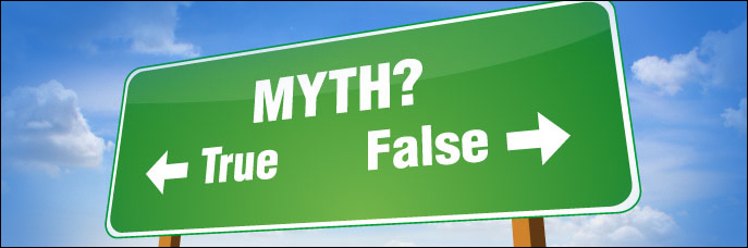 Here is our list of Top 10 Credit Myths